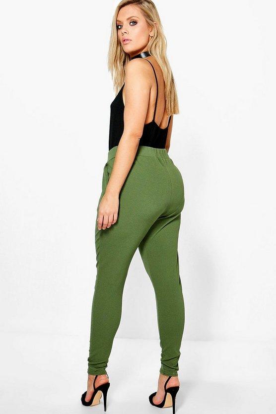 Plus  Pleat Front Trouser