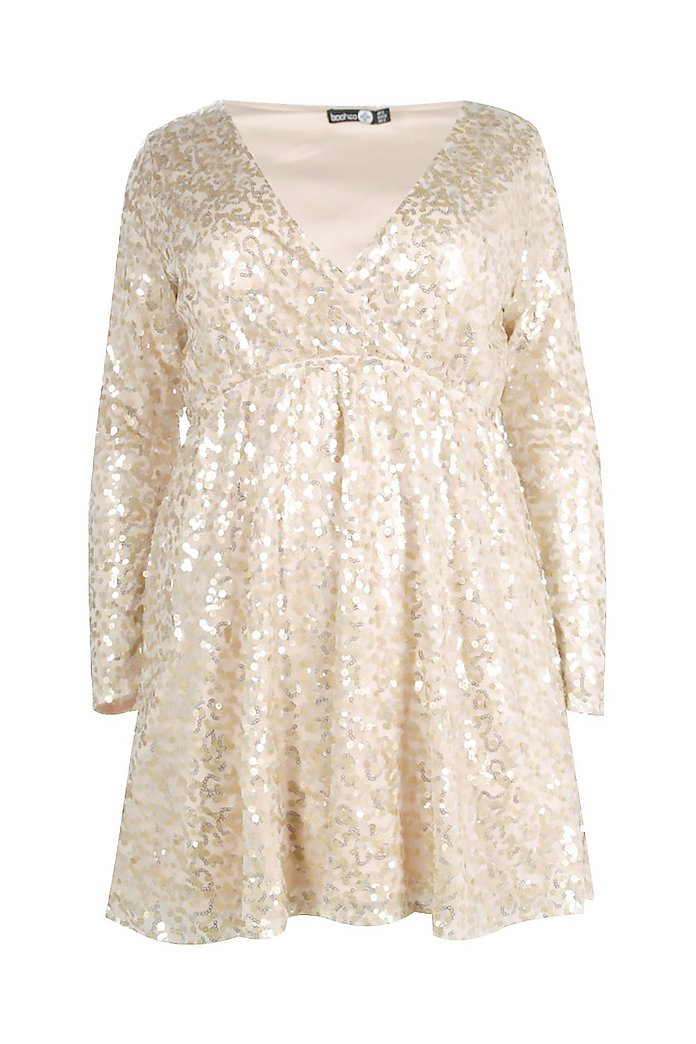 Ladies UK Plus Size 8-26 Gold Or Black Sparkly Jumpers Tops