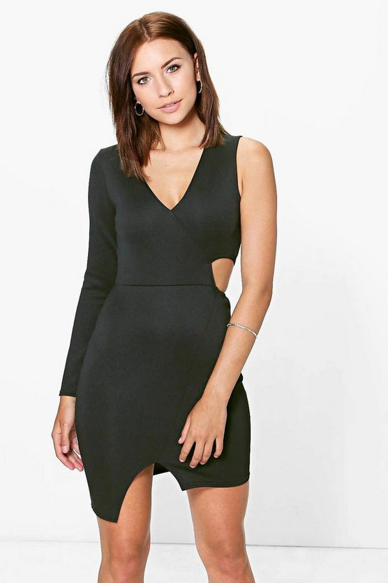 Petite Tori One Sleeve Dress