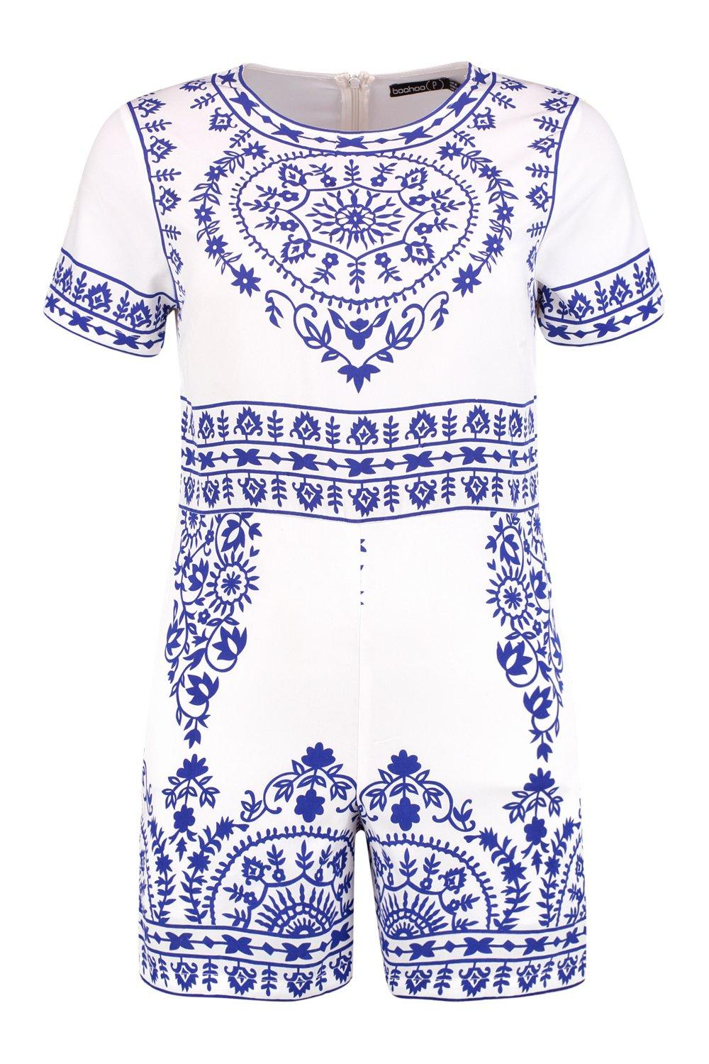 Print Playsuit Petite Print Placement Petite multi Petite multi Playsuit Print Placement Playsuit Placement qPqvBwOS