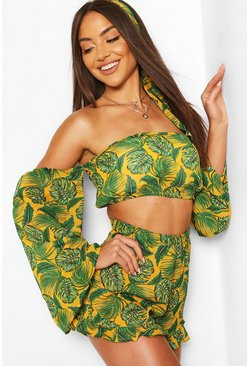 Green Beach Co-ord Set