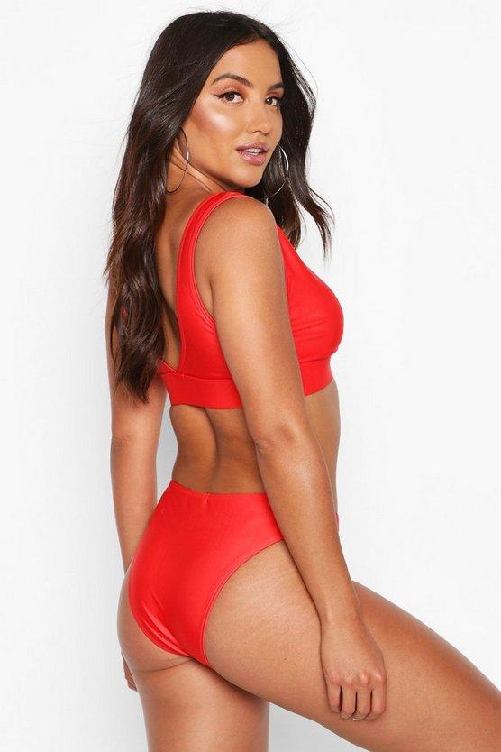 Mix & Match Plunge Bikini Top