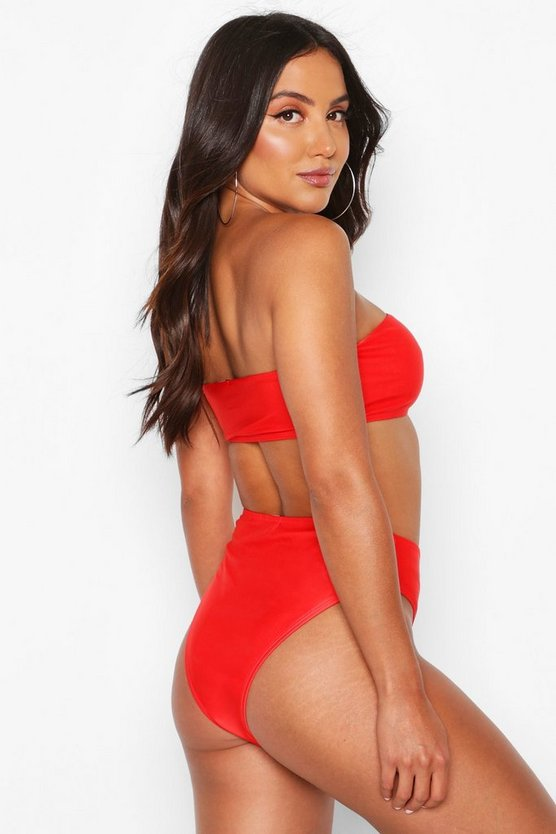 Mix & Match Bandeau Bikini Top