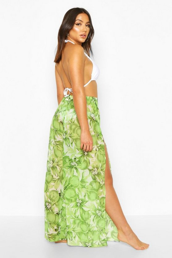 Floral Apple Beach Trousers