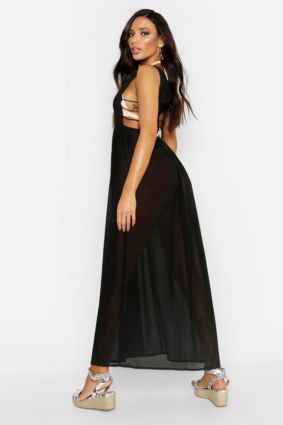 Cut Out Maxi Beach Dress