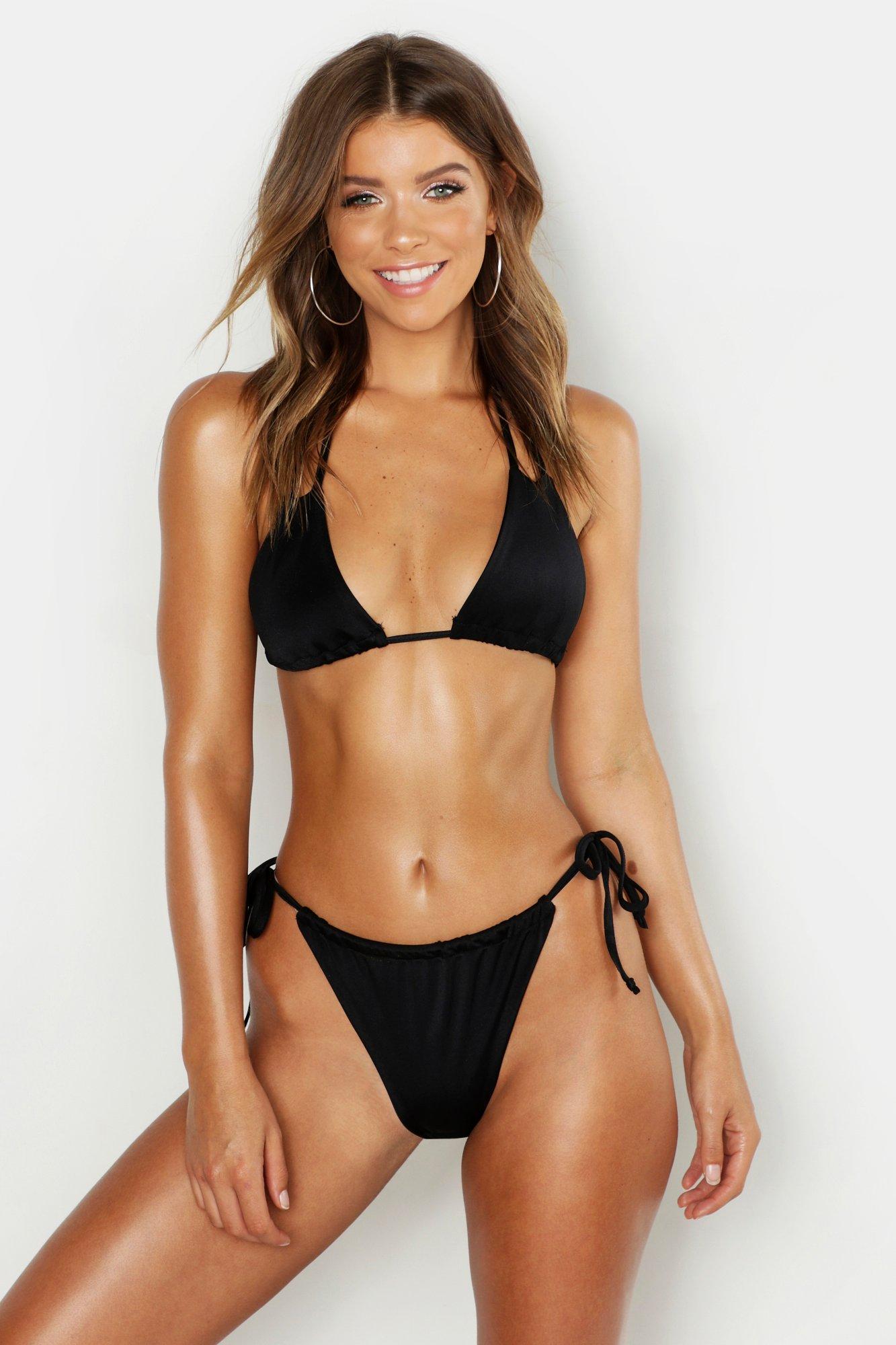 Minimal Adjustable Triangle Bikini