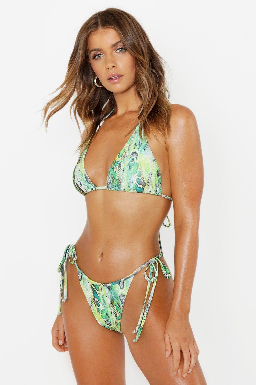 Neon Snake Bikini