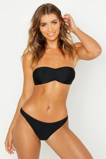 Black Paris Mix & Match Bandeau Top