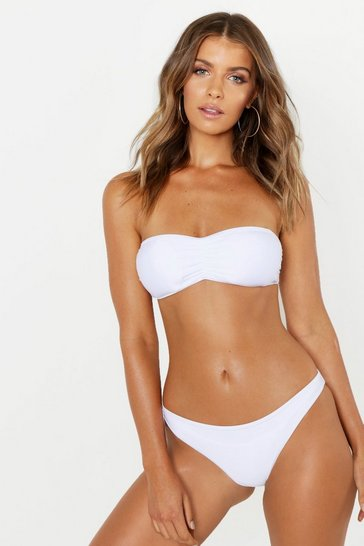 White Mix & Match Bandeau Top