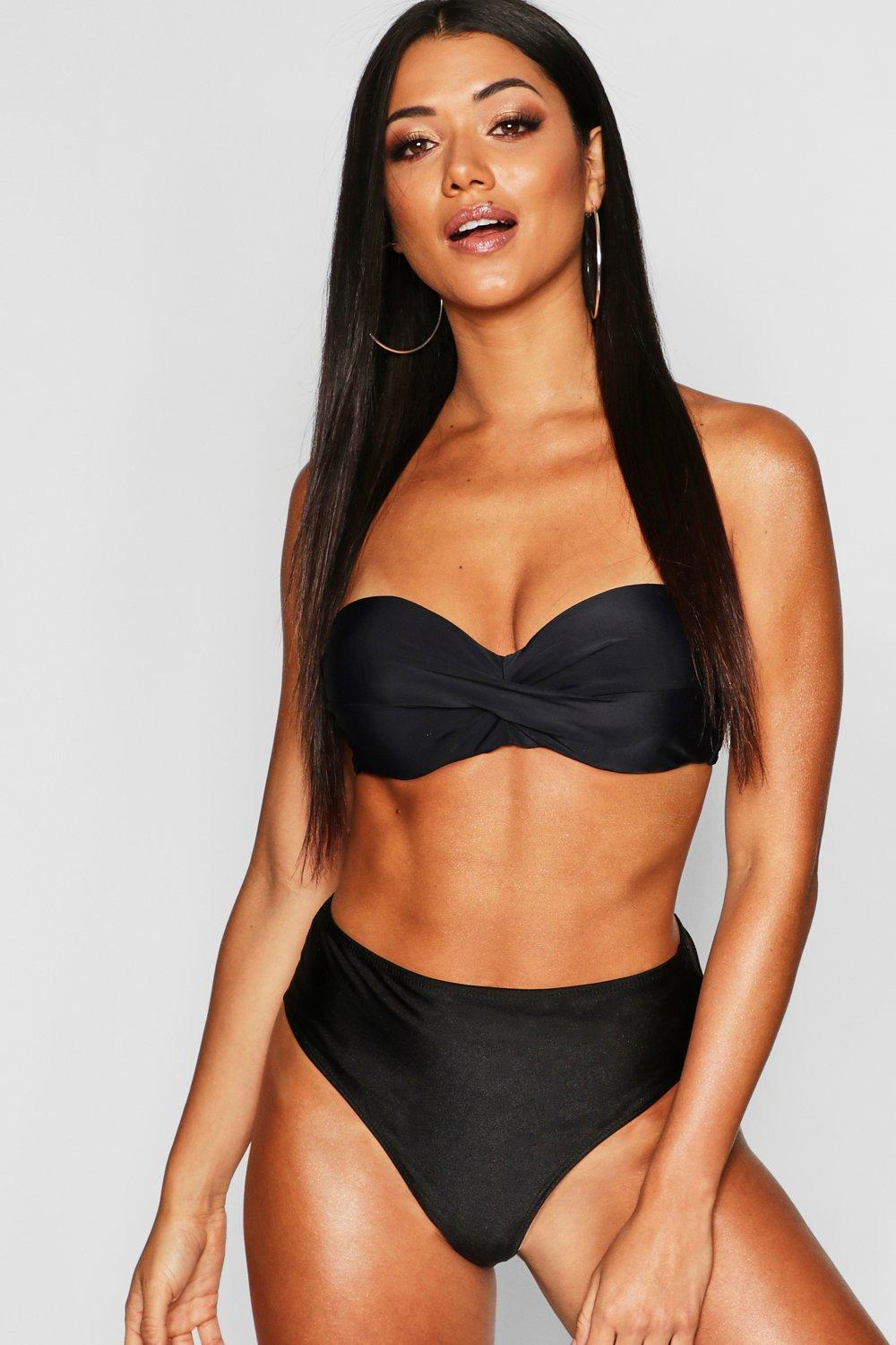 Mix & Match Removable Push Up Balconette Top