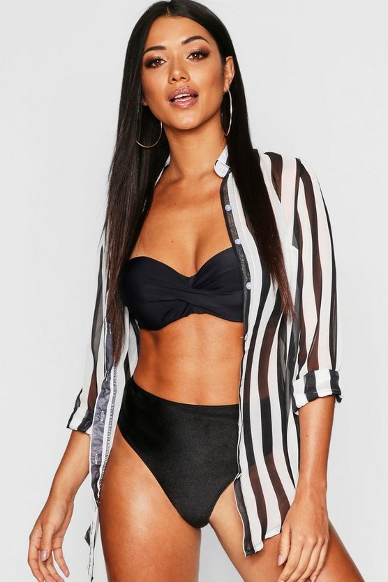 Humbug Stripe Beach Shirt