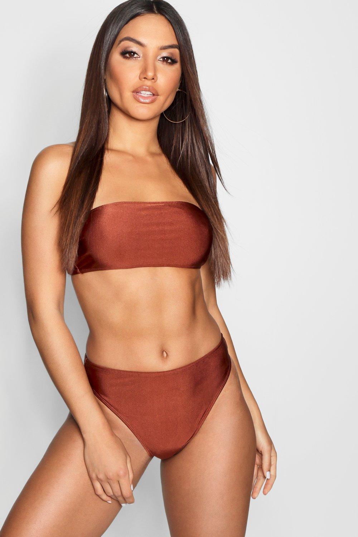 Bandeau High Waist Bikini