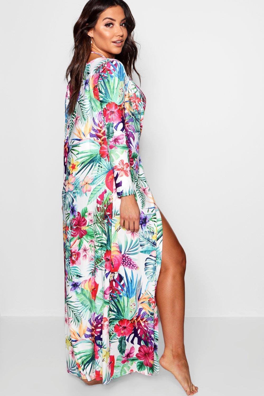 kimono tropicale Bikini e stampa con ZfWvq6WO