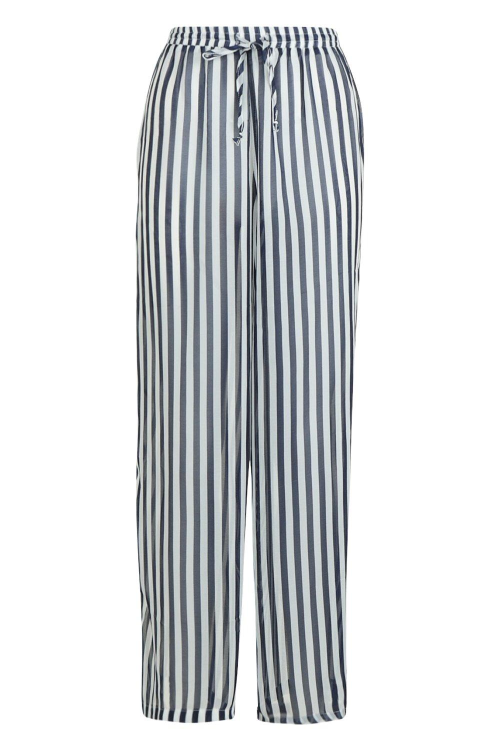 Beach navy Trouser Stripe Stripe Beach Trouser 5wnqf0z