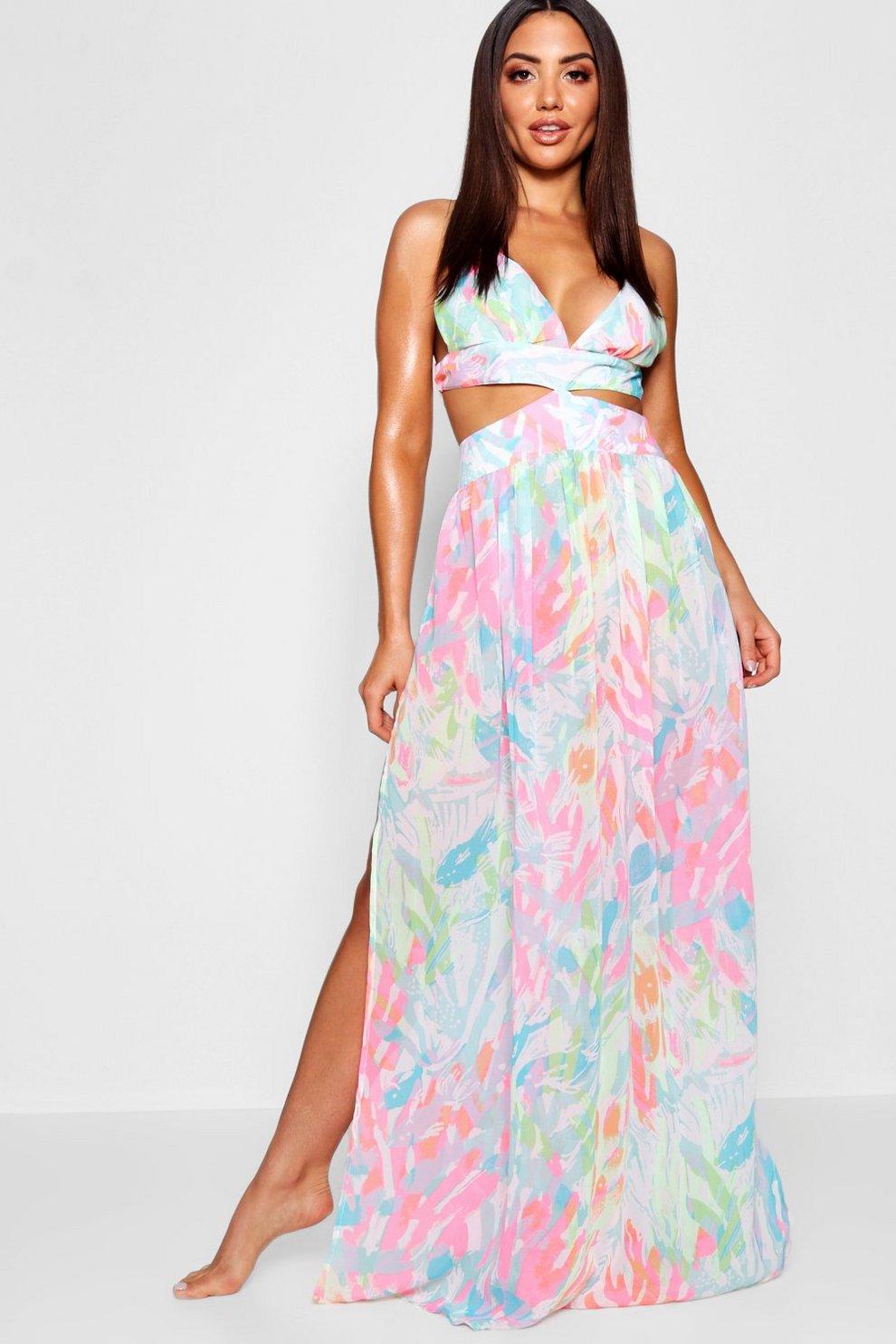 Neon Beach Dress