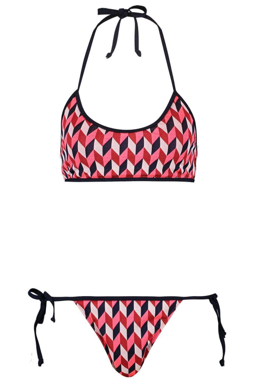 Triangle white Miami Zag Zig Bikini wpEFSSq46W