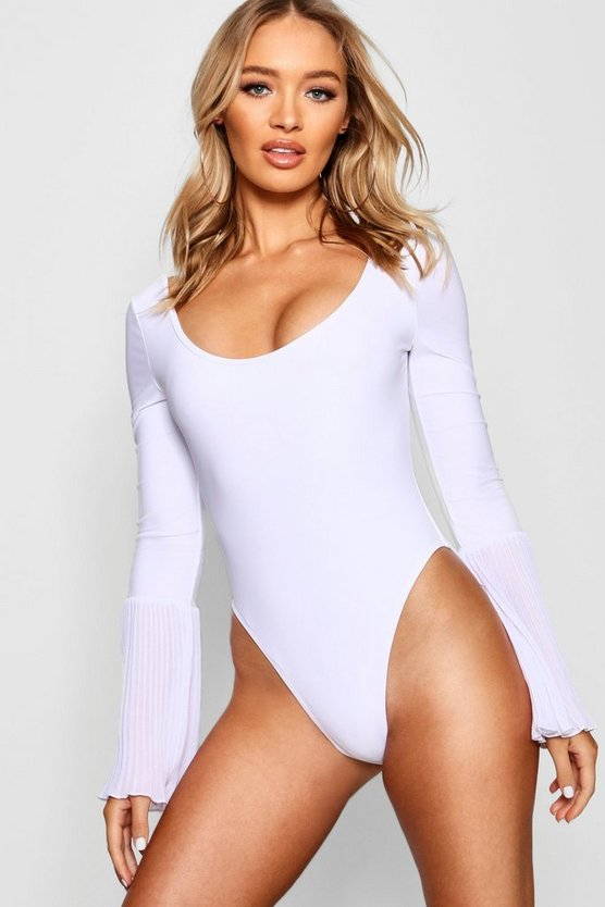 India Bell Sleeve Swimsuit