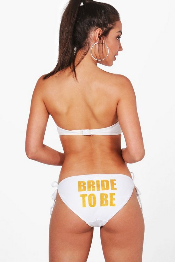 Malindi Bride To Be Tie Side Bikini Brief