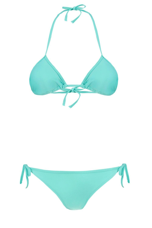 Set Bikini turquoise turquoise turquoise Triangle Bikini Bikini Triangle Bikini Set Triangle Set Triangle q1xt4ggZAw