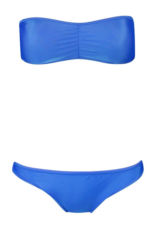 Bikini Bandeau Bandeau cobalt Bikini Set Bandeau cobalt Set Set Bandeau cobalt Bikini pqwdxR