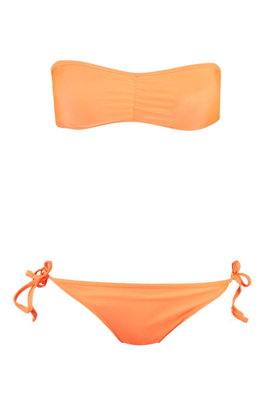 Brief Tie Mix Match amp; Bikini orange Side wS6wTqX