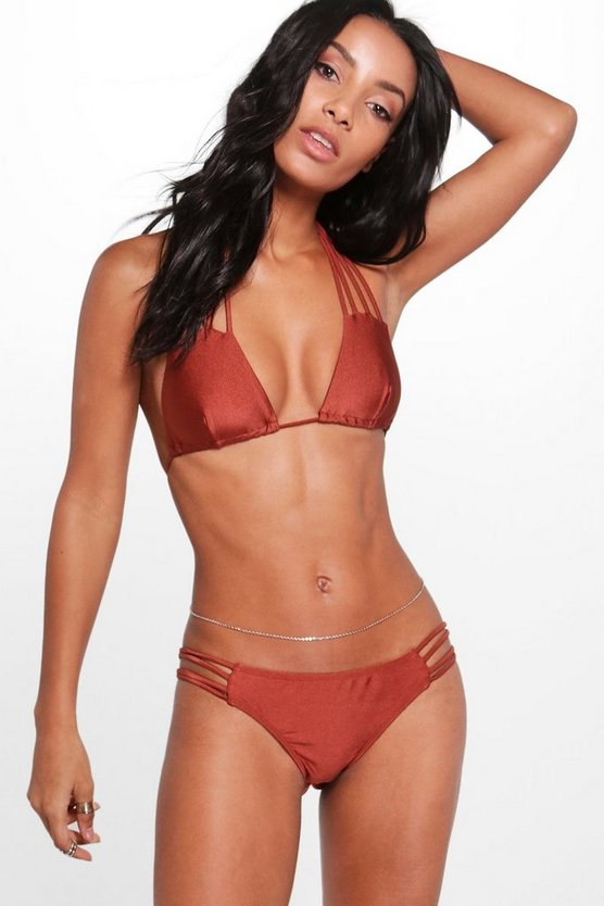 Thira Boutique Strappy Triangle Bikini