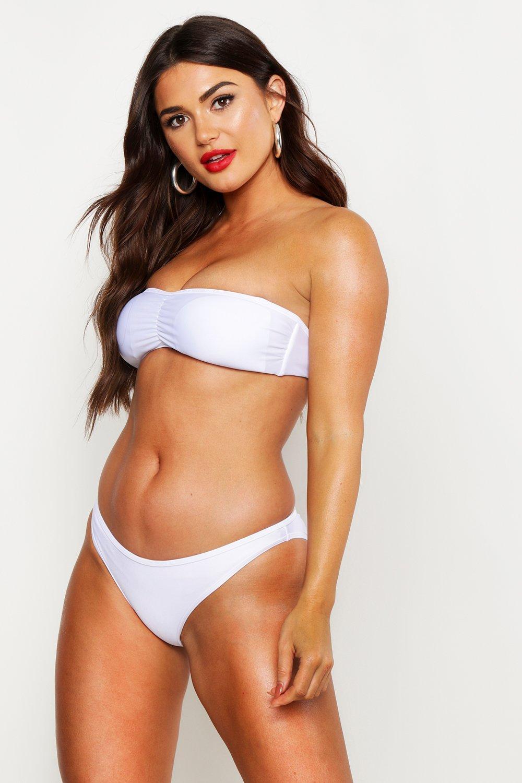 Bikini Bandeau Set Set Bandeau white Bikini Bandeau Bikini white Bandeau Set white Set Bikini tqpWW4ARP