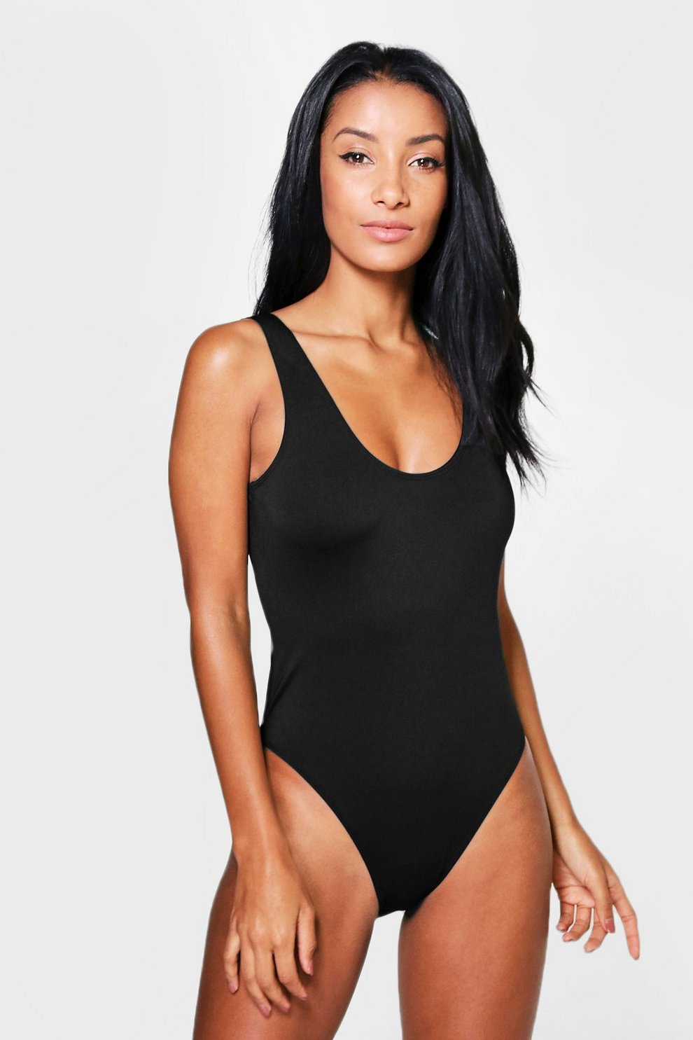 d11c8e8f5cf3d Scoop Back Swimsuit | Boohoo