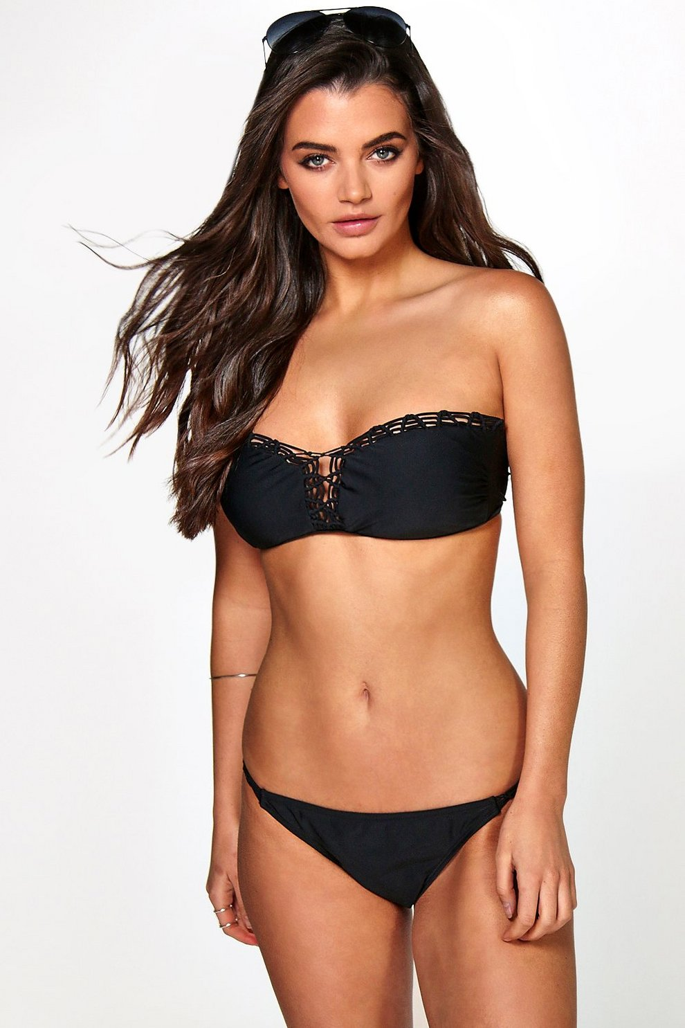 f7df871950126 Tahiti Boutique Crochet Bandeau Bikini