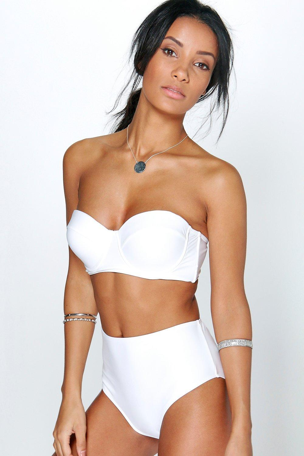 usa cheap sale wholesale outlet for sale Longline Underwired H/W Bikini | boohoo NZ