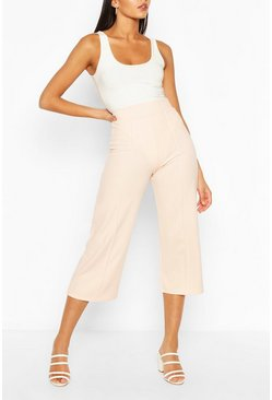 Peach Tall Tailored Woven Culottes
