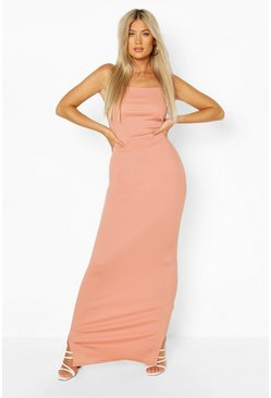 Blush Tall Rib Maxi Dress