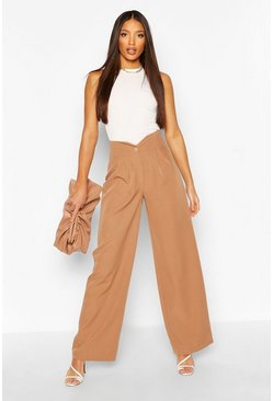 Cedar Tall Woven Pleated Wide Leg Pants