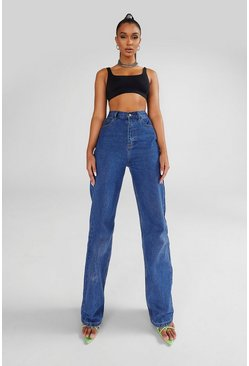 Mid blue Tall Boyfriend Jeans
