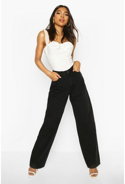 Black Tall Boyfriend Jeans