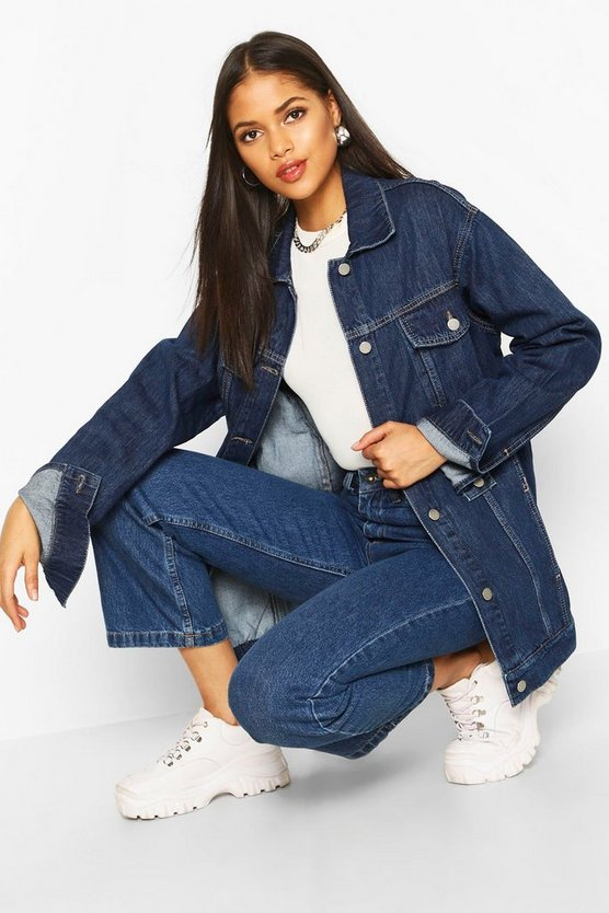 Tall Oversized Denim Jacket