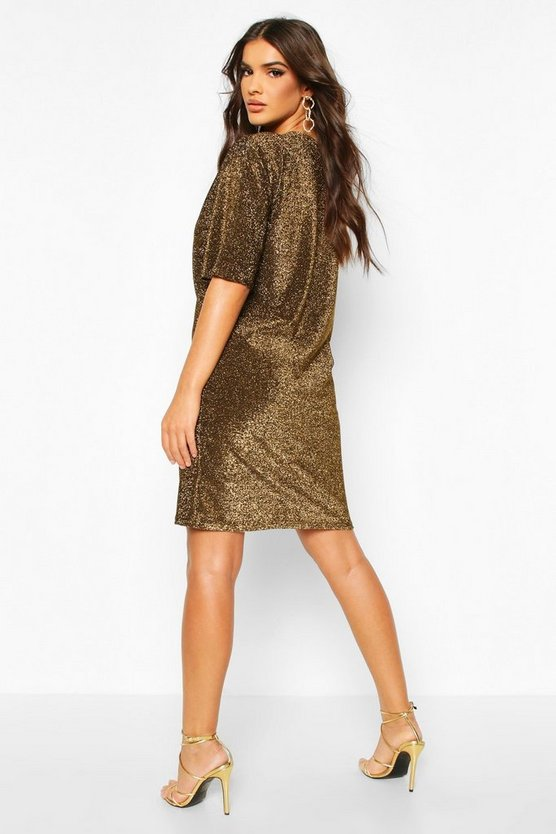 Tall Glitter T-Shirt Dress