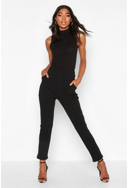 Black Tall Basic Stretch Skinny Trousers