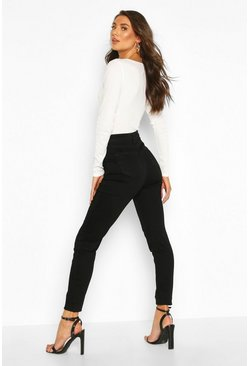 "Womens Tall Black 36"""" Leg Skinny Jeans"