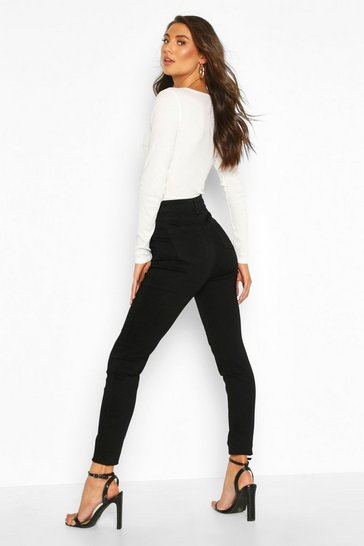 "Tall Black 36"""" Leg Skinny Jeans"