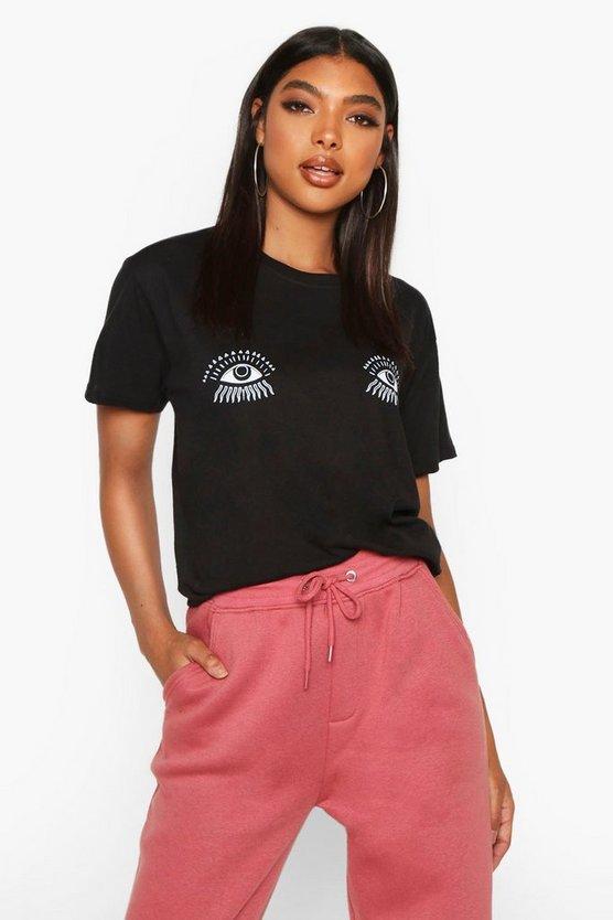 Tall Magic Eye Printed T-Shirt