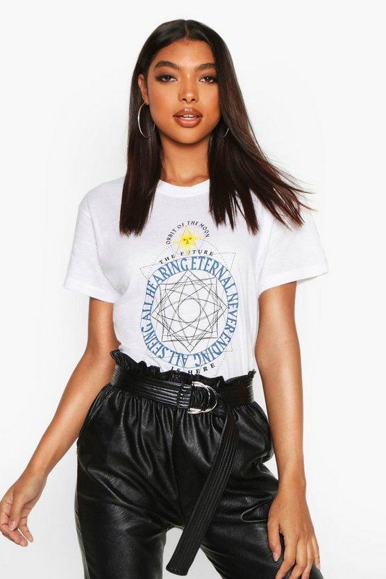 Tall Celestial Print T-Shirt