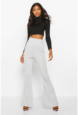 Light grey Tall Contour Waistband Ponte Flares