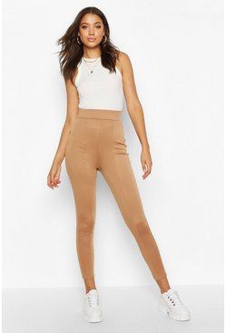 Camel Tall Contour Waistband Ponte Leggings