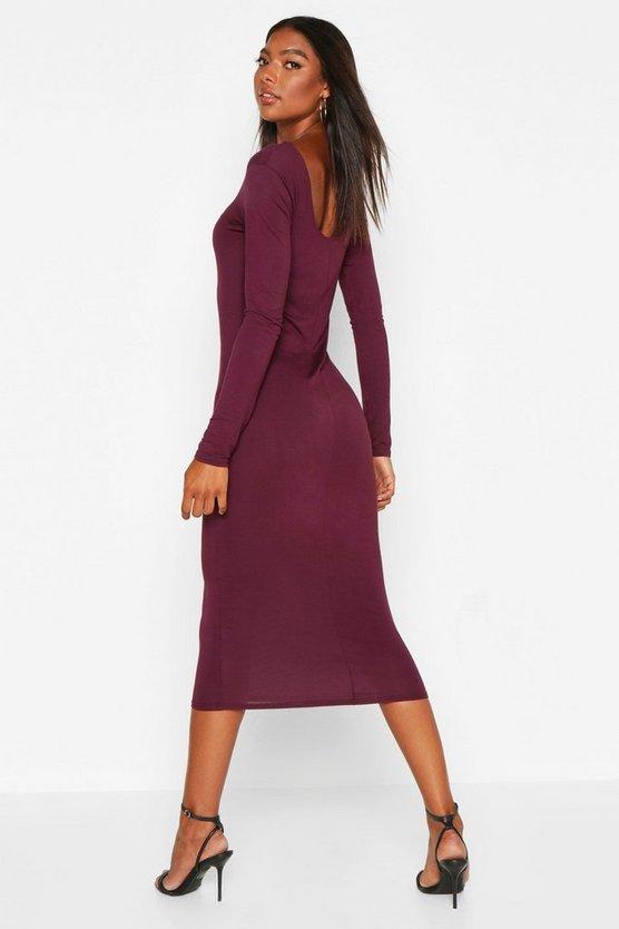 Tall Square Neck Bodycon Dress