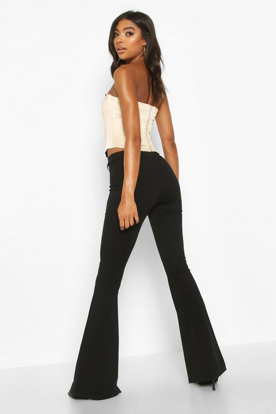Tall Split Front Woven Flares