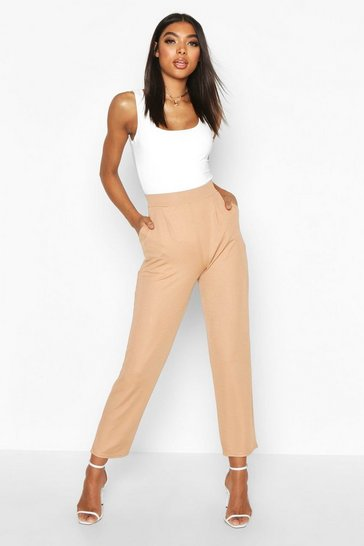Stone Tall Tailored Utility Trousers