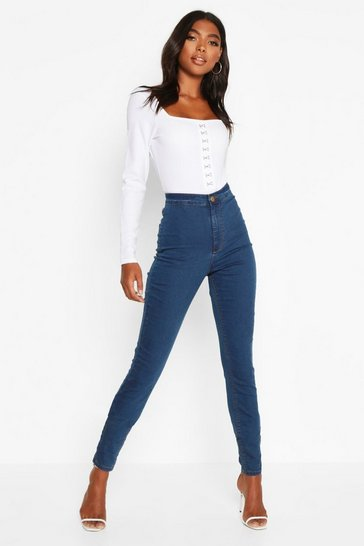Blue Tall Denim Jeggings