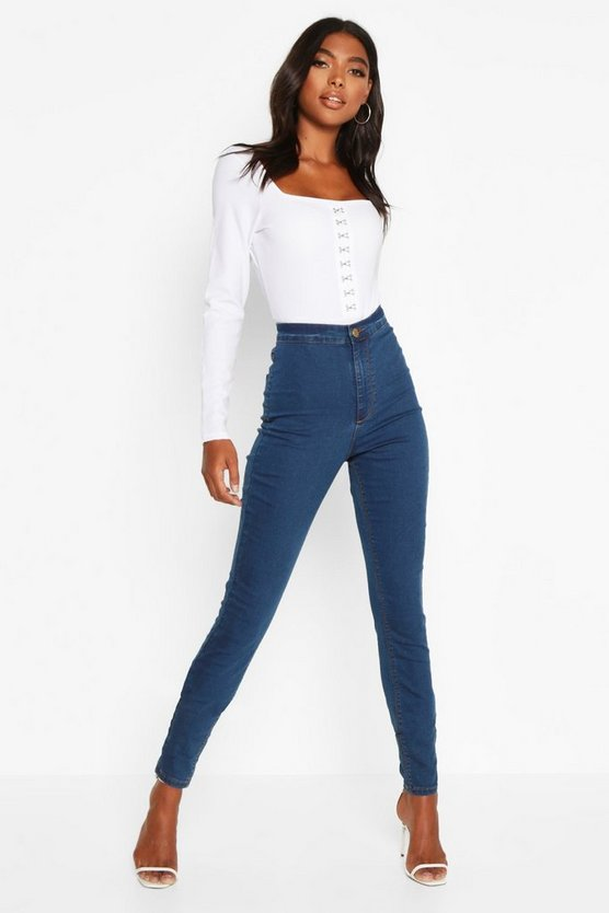 Tall Denim Jeggings