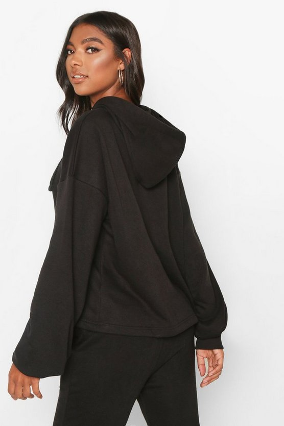 Tall Crop Oversized Hoody